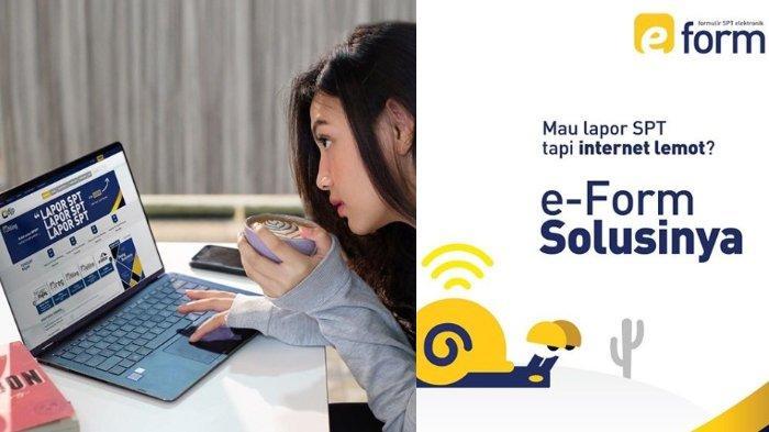 DJP Online: Isi SPT Secara Online Sebelum 30 April Melalui E-Filing & E-Form, Berikut Caranya