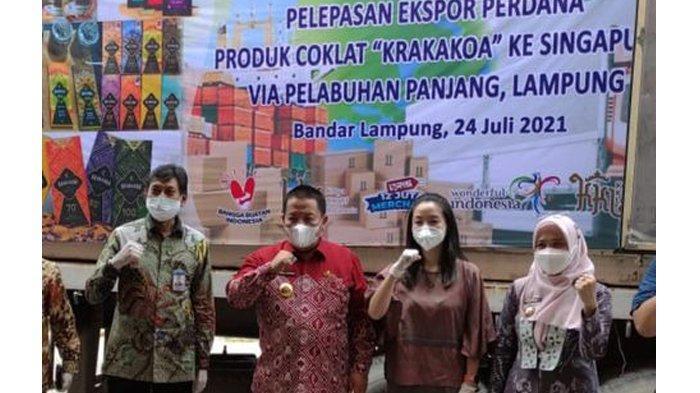 Coklat Asal Lampung Mendunia Berkat Bantuan Bea Cukai dan Pemerintah Setempat