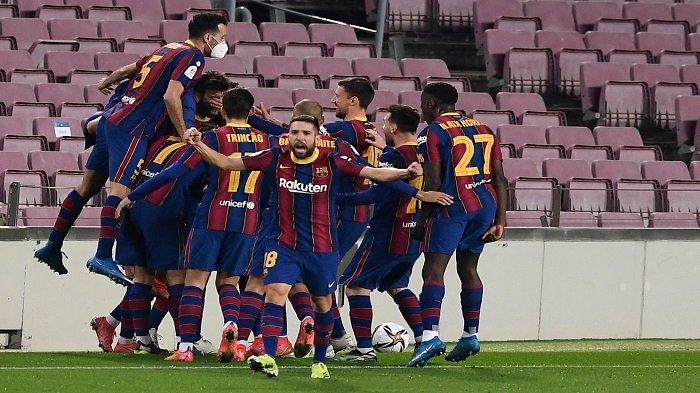 LINK Live Streaming & Live Score Hasil Final Copa del Rey Athletic Bilbao vs Barcelona di Barca TV