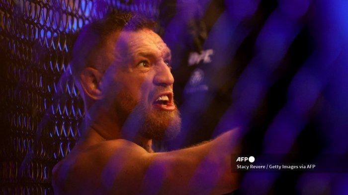 Kejutan Laga UFC 264, Pakai Gaya Khabib Nurmagomedov, Conor McGregor Patahkan Kaki Sendiri