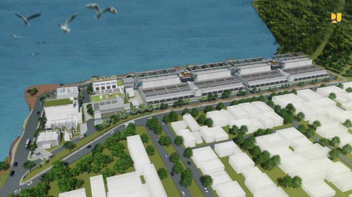 Contoh desain pembangunan permukiman dan perumahan.