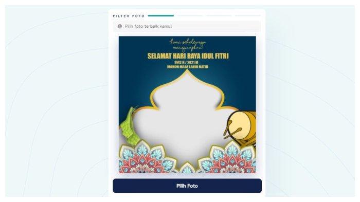 25 Link Download Twibbon Kartu Ucapan Selamat Lebaran Idul Fitri 1442 H, Ini Cara Membuatnya