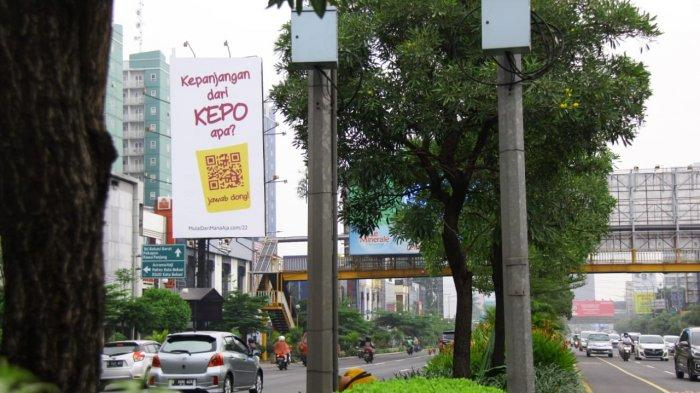 Viral Videotron dengan Pertanyaan Unik di Sudirman-Thamrin Pancing Perhatian Netizen