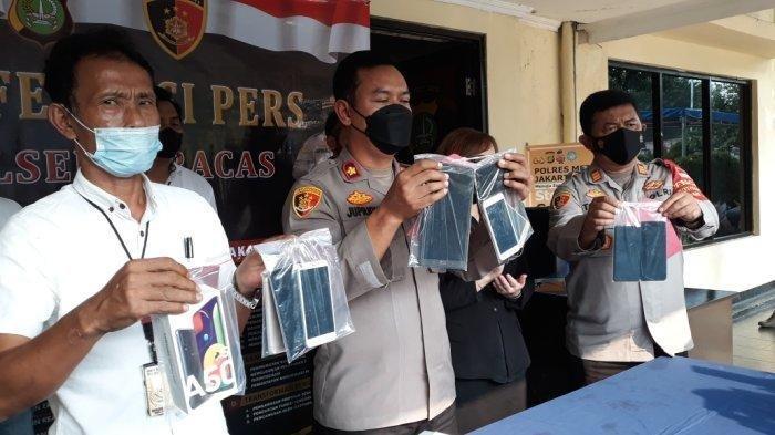 Komplotan Copet Diringkus, Kerap Beraksi di Flyover Pasar Rebo, Incar Emak-emak dan Penumpang Angkot