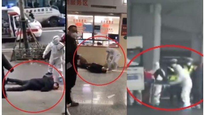 VIDEO Warga China Berjatuhan Duduga Gegara Virus Corona
