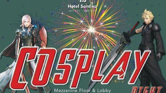 Yuk Habiskan Malam Tahun Baru di Cosplay Night New Year's Eve Party 2020 Santika BSD Teraskota