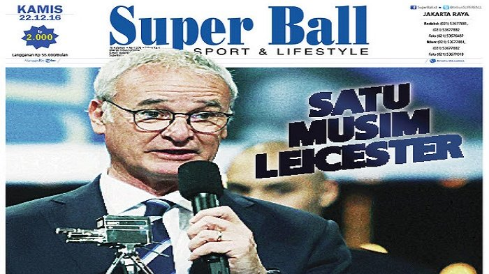 Keperkasaan Satu Musim Leicester City