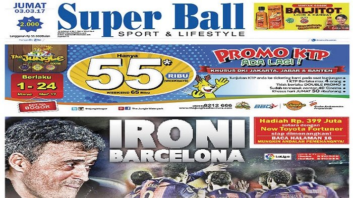 Ironi Barcelona usai Kandaskan Sporting Gijon