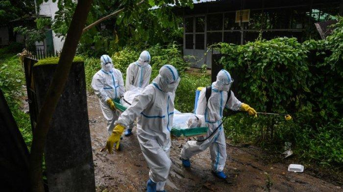 Inggris: Setengah Penduduk Myanmar Dapat Terinfeksi Covid-19 Dalam Dua Minggu Ke Depan