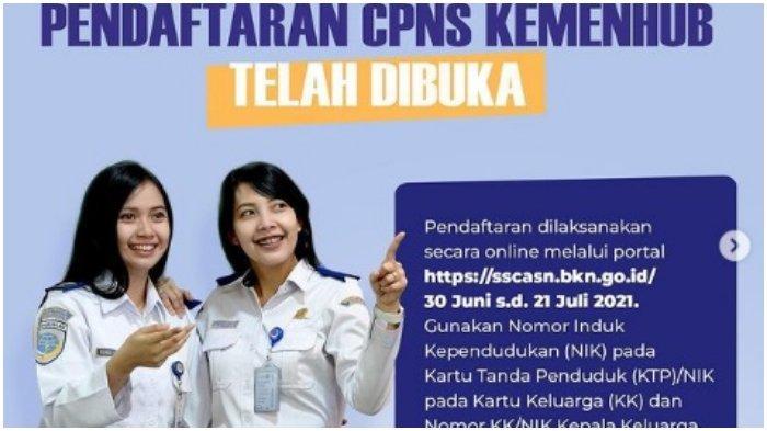 Contoh Surat Lamaran Pendaftaran CPNS Kemenhub 2021 Beserta Surat Pernyataannya