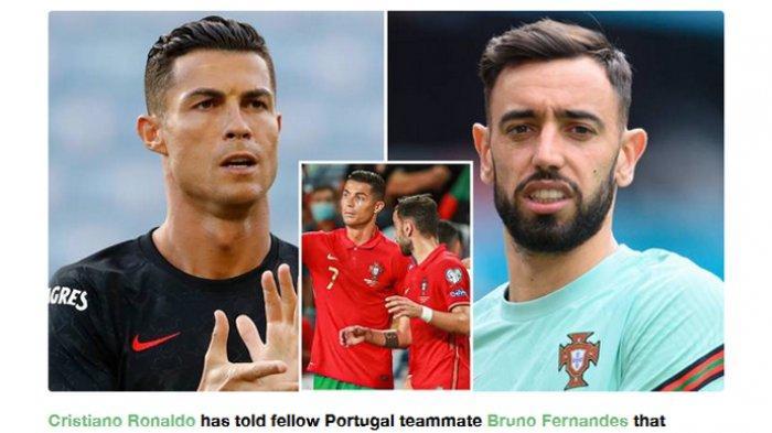 Kabar Man United, Cristiano Ronaldo Kirim Pesan Serius ke Bruno Fernandes Soal 'Unfinished Business'