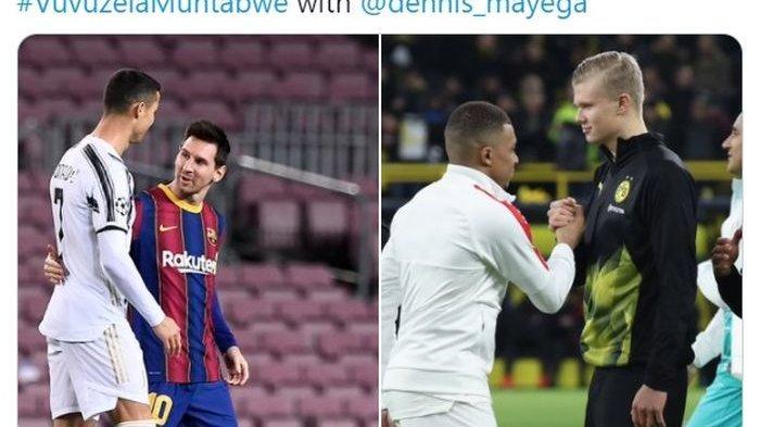 Bukti Kylian Mbappe dan Erling Haaland Mulai Benamkan Dominasi Lionel Messi dan Cristiano Ronaldo