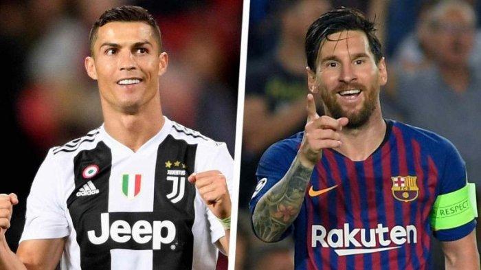 Top Scorer 5 Liga Top Eropa - Messi Memimpin Jauh, Ronaldo Tertinggal