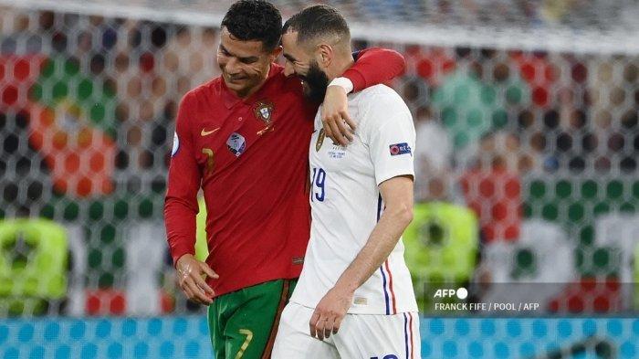 9 Fakta Menarik Portugal vs Prancis Euro 2021 - Cristiano Ronaldo dan Karim Benzema Panen