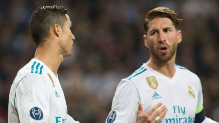 Cristiano Ronaldo dan Sergio Ramos
