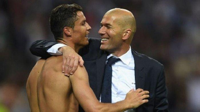 Tanggapan Terbaru Zidane Sikapi Rumor Kembalinya CR 7 ke Real Madrid