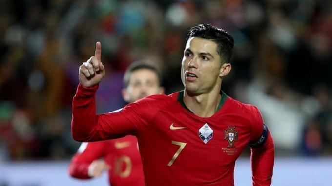 Cristiano Ronaldo, Manusia Penuh Rekor