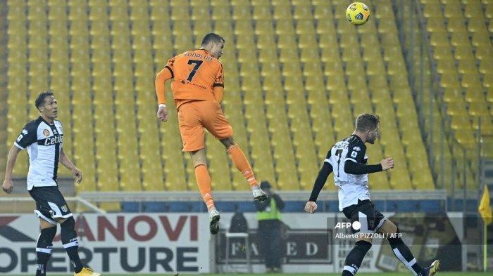 HASIL Parma vs Juventus Babak Pertama, Morata Pelayan yang Baik, Ronaldo sejajar Ibrahimovic