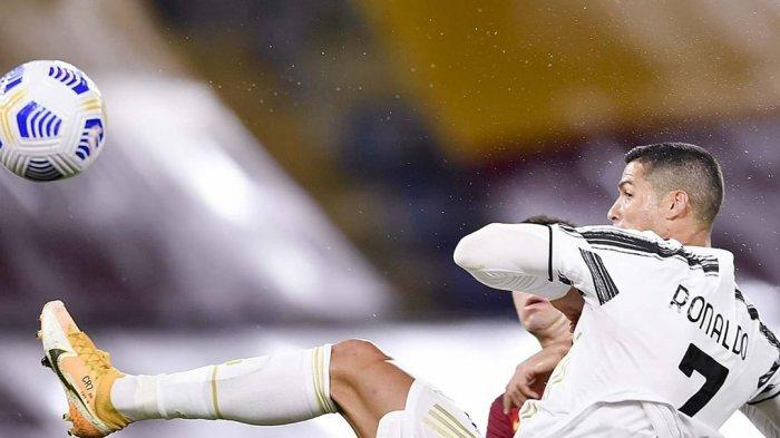Hasil AS Roma vs Juventus Liga Italia, Gol Cristiano Ronaldo Selamatkan Bianconeri dari Kekalahan