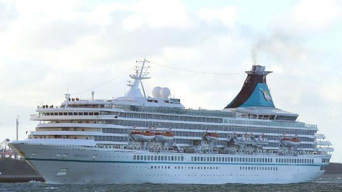 Giliran Cruise MV Artania Merapat ke Sabang Bawa 700 Turis Mancanegara