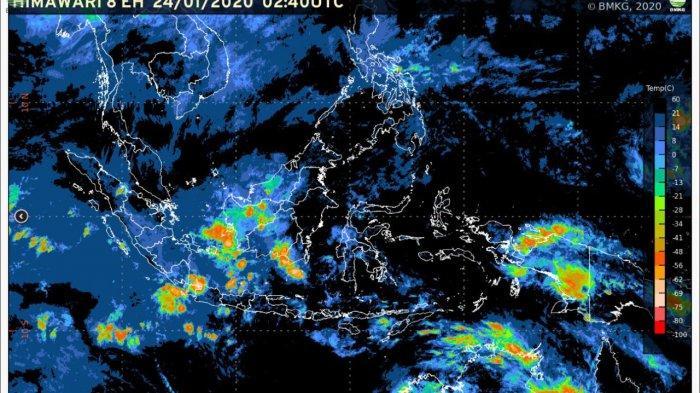 Cuaca 24 januari 2020