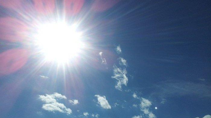 ILUSTRASI - Info BMKG: Udara terasa sangat panas di sebagian wilayah Indonesia, ternyata akibat gerak semu matahari.