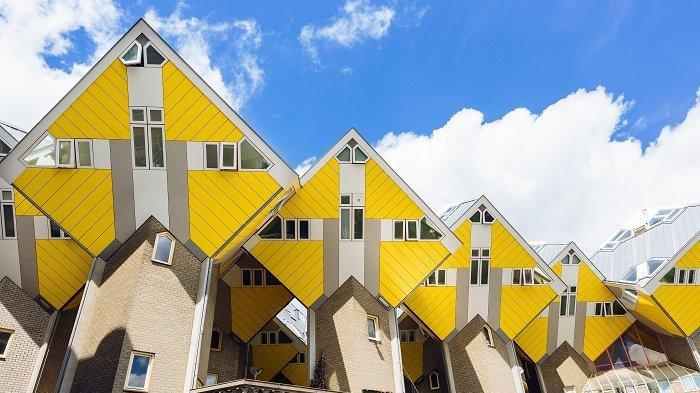 6 Bangunan Ini Punya Desain Arsitektur Paling Unik Dan Kreatif Di Dunia Ada Rumah Kubus Tribunnews Com Mobile