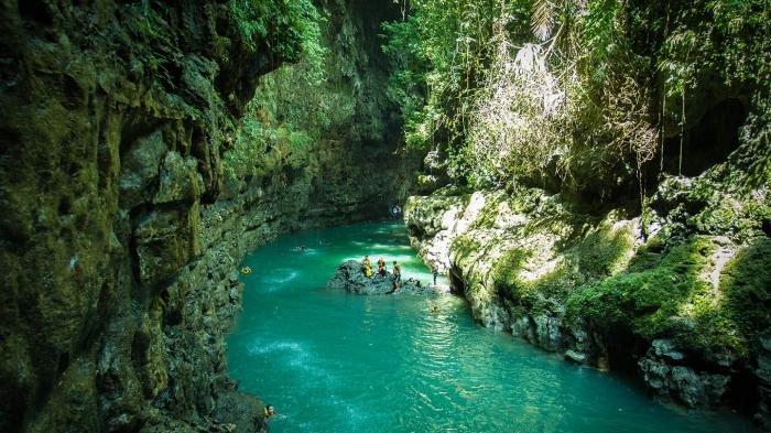 Mengintip Nuansa Alami Cukang Taneuh di Pangandaran, Green Canyon-nya Indonesia