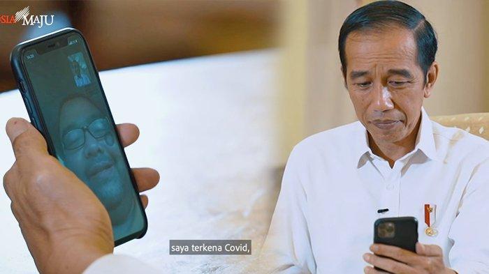 Curahan Hati Dokter Faisal ke Jokowi: Saya Terkena Corona, Sudah Jalani Perawatan Segala Macam