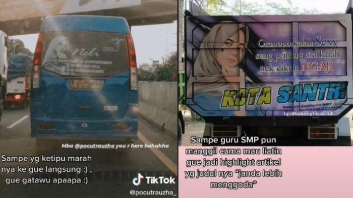 Curhatan seorang gadis yang fotonya sering muncul di belakang truk viral, ini kisahnya 2