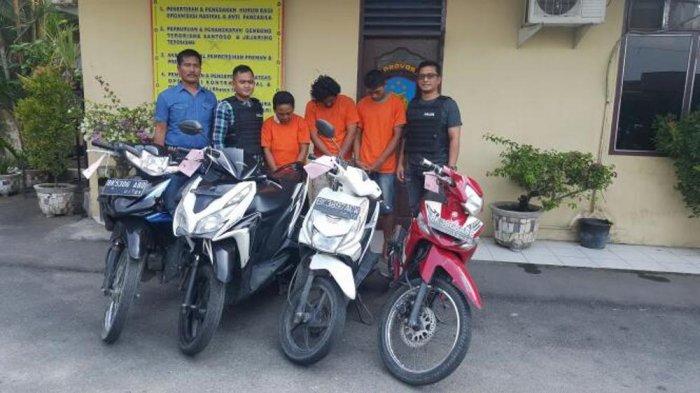 Jaringan dan Penadah Curanmor di Surabaya Diringkus Polisi! Begini Modusnya