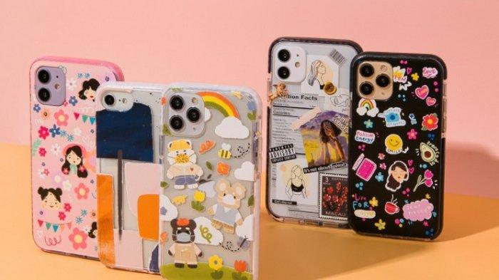 Custom Case ini banyak digunakan anak muda masa kini sebagai pelindung smartphone mereka.