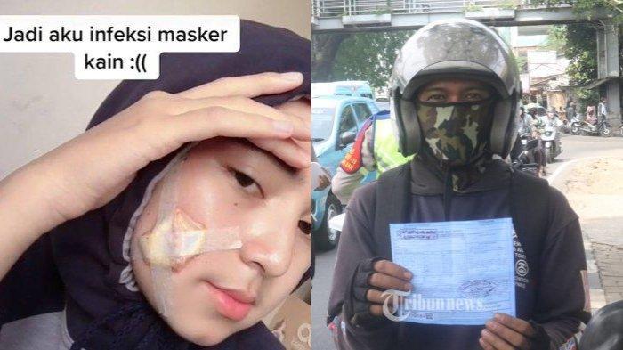POPULER NASIONAL: Viral Infeksi Masker Kain   Beda Surat Tling Slip Biru dan Merah di Operasi Zebra