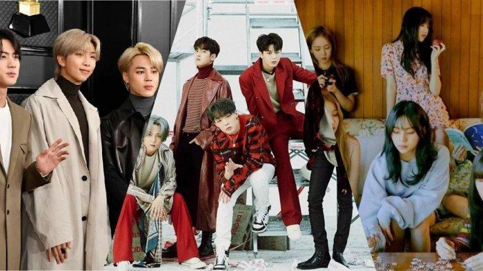 Daftar Idol K-Pop yang akan Comeback Bulan Februari 2020: Ada GFRIEND, MONSTA X, dan BTS