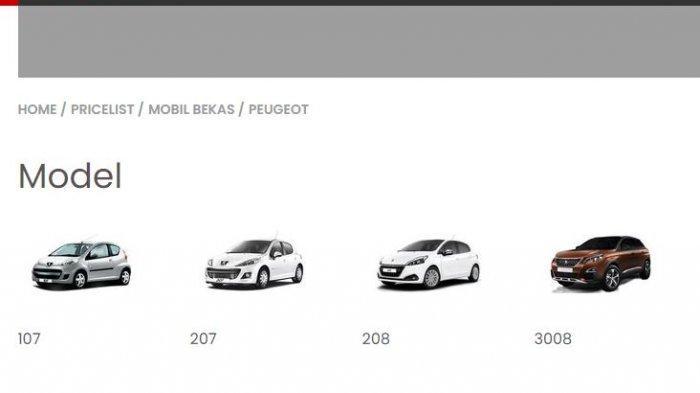 Daftar Harga Mobil Peugeot Bekas September 2021: Tipe 207 Matik Tahun 2007 Mulai dari Rp 70 Juta