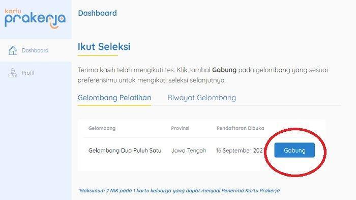 Pendaftaran Kartu Prakerja Gelombang 22 di www.prakerja.go.id Kapan Dibuka? Ini Penjelasannya