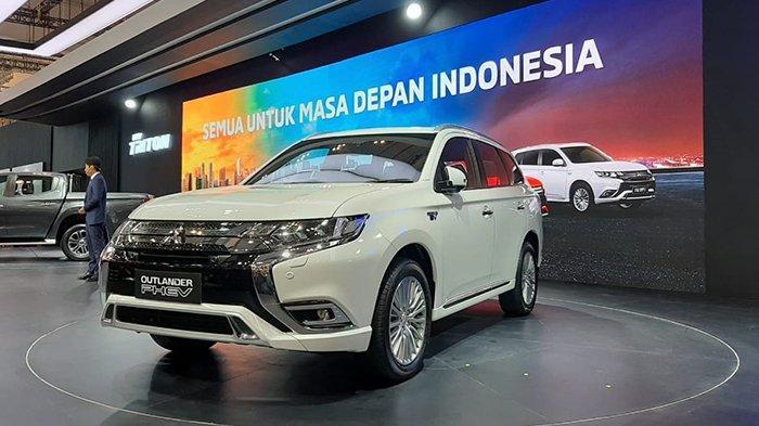 Launching Mitsubishi Outlander PHEV di GIIAS 2019, ICE BSD, Tanggerang, Kamis (18/7) lalu. (Tribunnews/Dea Duta Aulia)