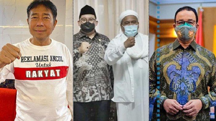 Daftar Tokoh yang Merapat ke Kediaman Rizieq Shihab, Mulai Gubernur hingga Petinggi Partai