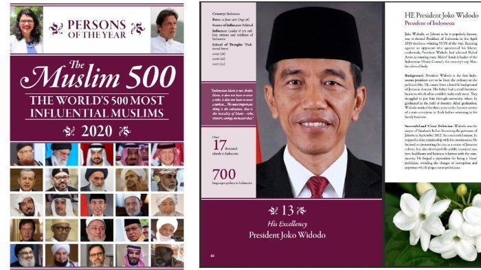 Daftar Top 50 Muslim Paling Berpengaruh di Dunia Versi The Muslim 500 edisi 2020, Jokowi Urutan 13