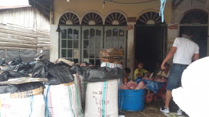 4 Ton Daging Babi Ilegal Disita Satpol PP Kota Jambi
