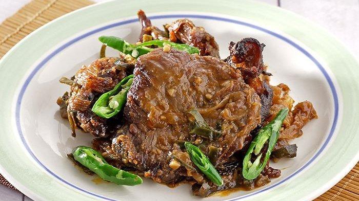 Daging Kambing Panggang Oriental