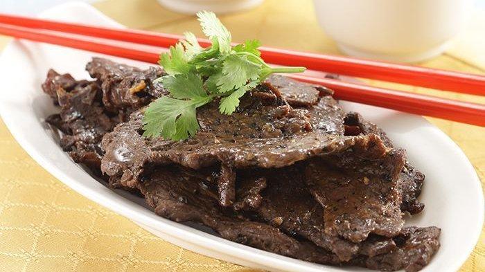 Daging Sapi Panggang Merica Hitam (Sajian Sedap)