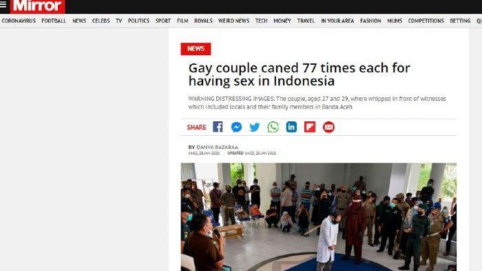 Daily Mirror-Pasangan Gay