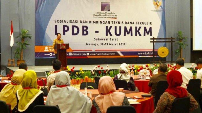 LPDB KUMKM Genjot Penyaluran Dana Bergulir di Sulawesi Barat