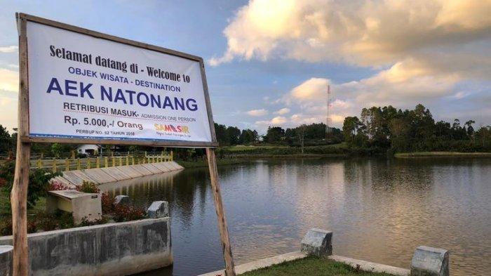 Danau Aek Natonang di Kabupaten Samosir, Sumatera Utara.
