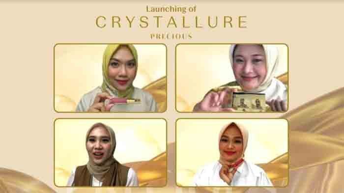 Crystallure meluncurkan Crystallure Precious dengan konsep youthful radiant healthy look.
