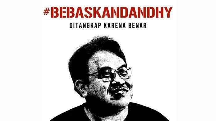 Dituduh Sebarkan Kebencian, Sutradara 'Sexy Killers' Dandhy Dwi Laksono Ditangkap Polisi