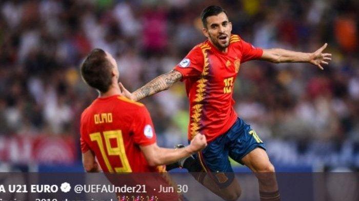 Dani Ceballos terancam dijual Real Madrid meski tampil brilian bersama timnas U-21 Spanyol