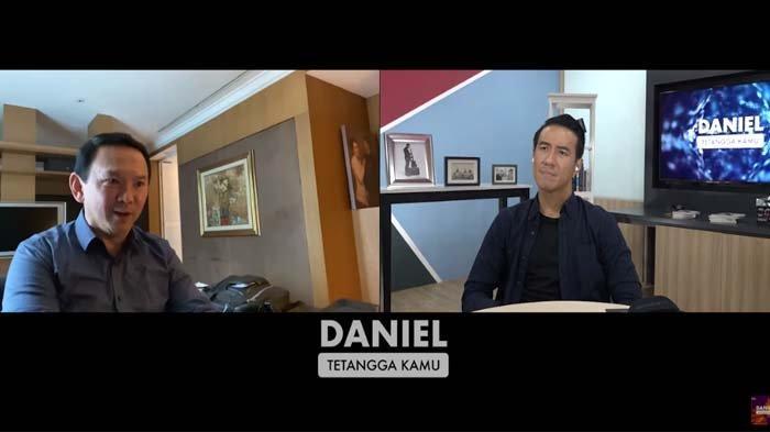 Ahok curhat ke Daniel Mananta soal perselingkuhan Veronica Tan