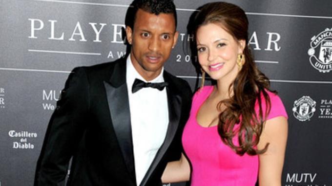 Daniela Martins dan Luis Nani